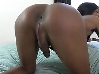 Analplay Infatuation Dark-hued Strokes Her Fat Dong