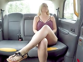 Sexy Blonde Arched Over And Fucked