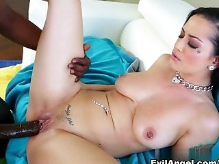 Fabulous Superstars Katrina Jade, Lexington Steele In Best Dark-haired, Big Weenies Bang-out Vid