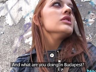 Beautiful Hungarian Nymph Aylin Diamond Fucked In The Public Place