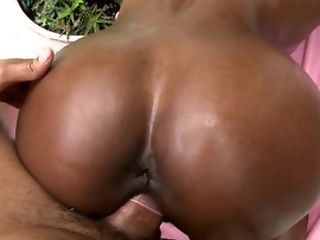 Astounding Black Superstar Persia Gets Her Cock-squeezing Gash Ruined