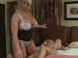 Girlfriendsfilms - Ginormous Titty Cougar Predominates Petite Teenage