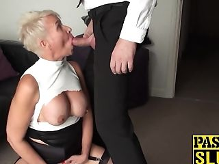 Domination & Submission And Tying Training For A Horny Cougar Super-bitch In Fever