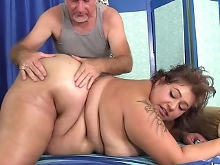 Bbw Veruca Darling's Fucky-fucky Crazed Rubdown