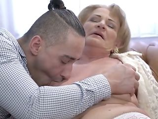 Puckered Gross Old Tart Sally G Gets Her Matures Cunt Fucked Rear End