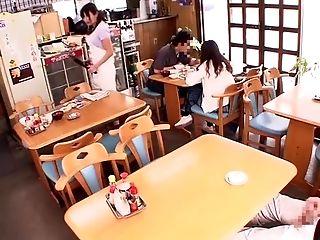 Horny Japanese Damsel Miwako Yamamoto, Chiharu Aibu, Maria Ono In Amazing Public Jav Scene