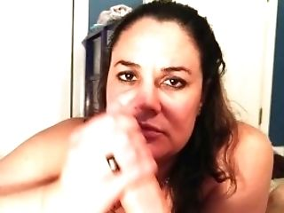 Cheating Wifey Edges A Salami And Deep Throats The Jizm Out...