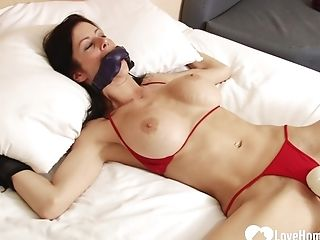 Bound-up Stepsister Gets Pleasured By A Equipment