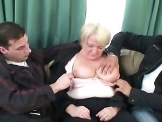 Tipsy Lady Is Picked Up By Two Dudes