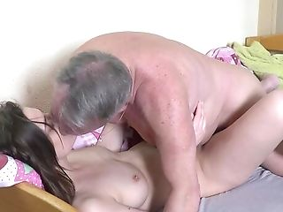 Senior Boy's Energized Dick Suits This Petite Gal Big Time