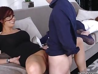 Dad And Playmate's Daughter-in-law Caught By Mom Perverse Xxx Train My Girlboss How