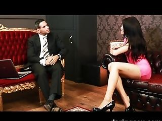 Crazy Superstar In Incredible Fixation, Stockings Adult Clip