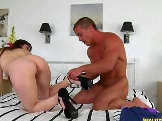 Petite All Natural Hoe Natty Mellow Loves To Use Her Fuck-fest Fucktoys Before Lovemaking