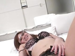 Superb Undergarments Gonzo Fuck With Asian Mariko - More At Javhd.net