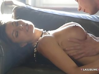 Black-haired Wifey Sofia Cucci With Large Tits Rails Her Paramour