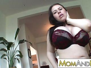 Mummy Mom Daphne Rosen Has Hefty Tits