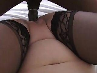 Granny In Stockings
