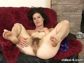 Crazy Pornographic Star In Incredible Brown-haired, Hairy Hookup Scene
