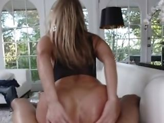 Teencurves - Blonde Stunner Gets Big Analed In Stockings