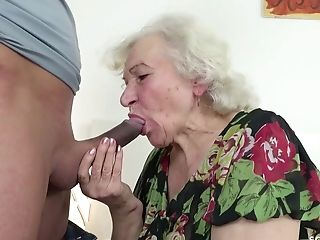 Fantastic Dude Wants To Feed With His Strong Shaft Horny Granny